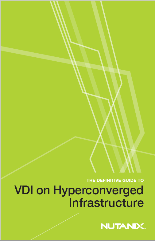 Forside VDI on Hyperconverged Infrastructure