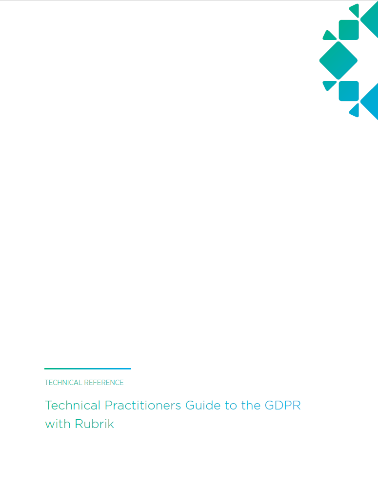 Rubrik-and-GDPR-Technical-Reference